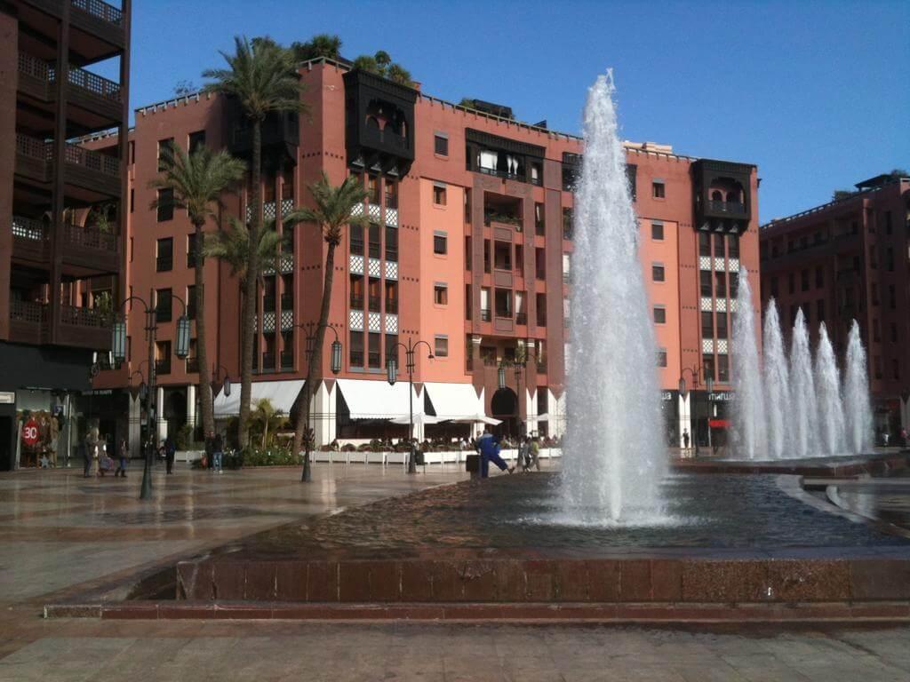 Location villa Marrakech centre ville