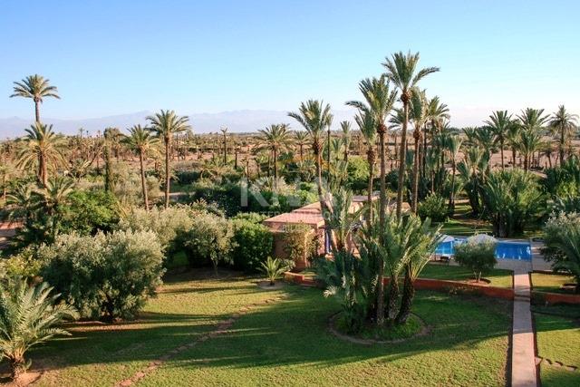 Location villa Marrakech route de Fes
