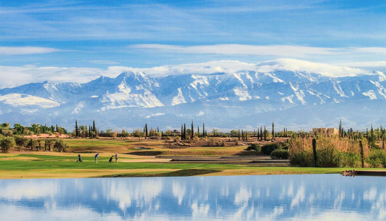 Location villa Marrakech Al Maaden