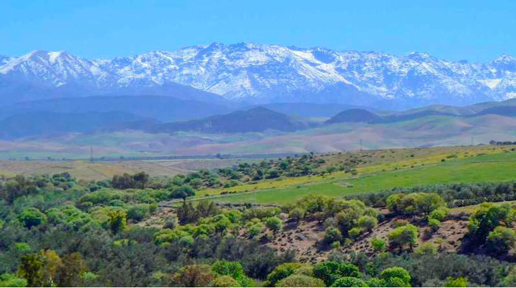 Location villa Marrakech Route d'Amizmiz
