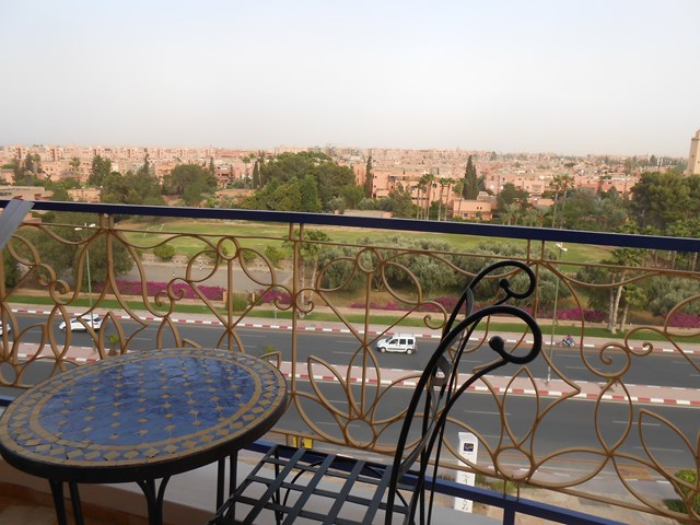 Location villa Marrakech route de Casablanca