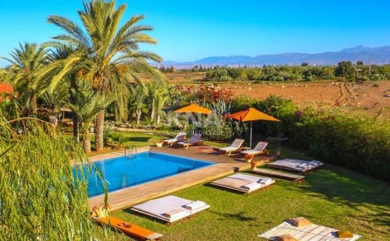 Location villa Marrakech route de Ourika